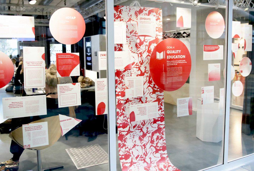 Bild på utställningen